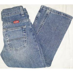 Wrangler Light Wash Denim Slim Jeans